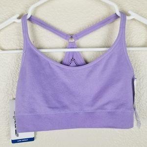 Marika Lavender Low Impact Sports Bra Size Small